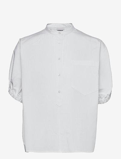 CAMICIA MOD.H712 - kortærmede bluser - bianco