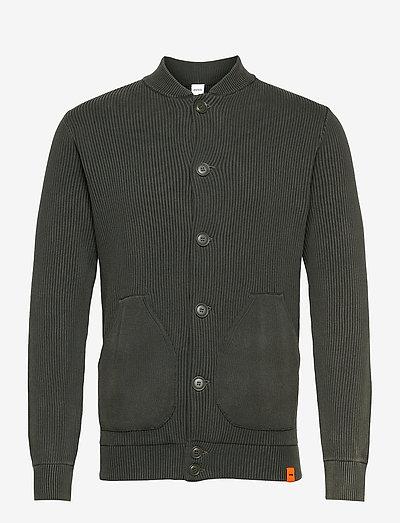 GIACCA MOD.M396 - basic knitwear - verde