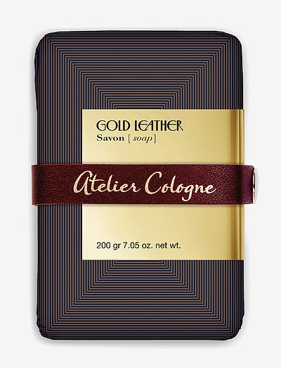 GOLD LEATHER SOAP 200 GR - dufte - clear