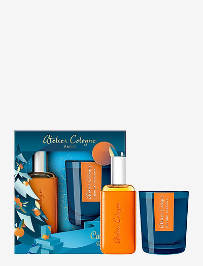 Clémentine California xmas set 30ml + Candle - hudpleiesett - no colour