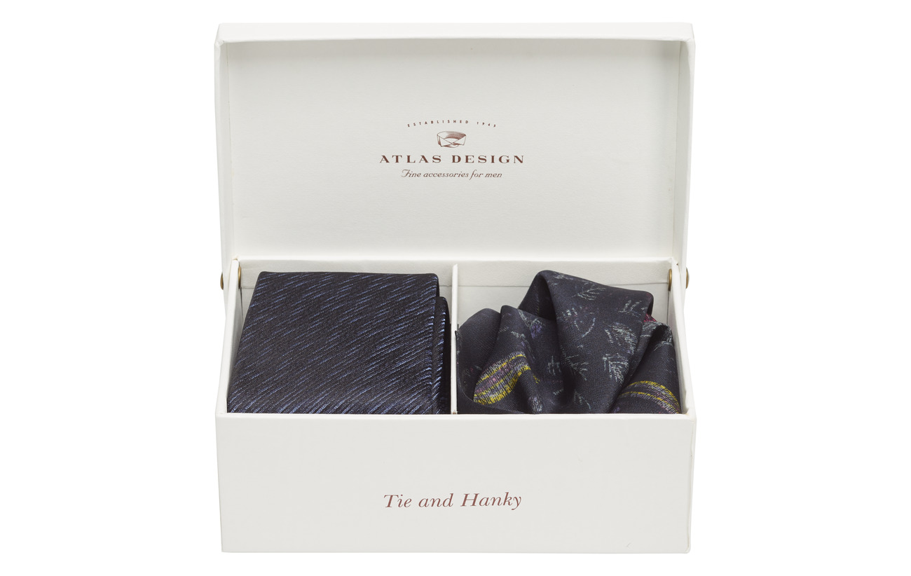 Gift Box HankyblueAtlas Tieamp; Design Gift Box HankyblueAtlas Box Gift Tieamp; Design UzpMVS