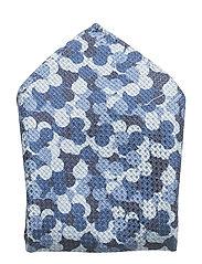 HANKY CAMO PRINT NAVY LINE - BLUE