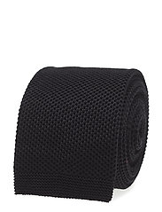 TIE KNITTED - BLACK