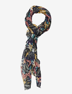 SCARF MULTI TROPICAL - BLUE MIX