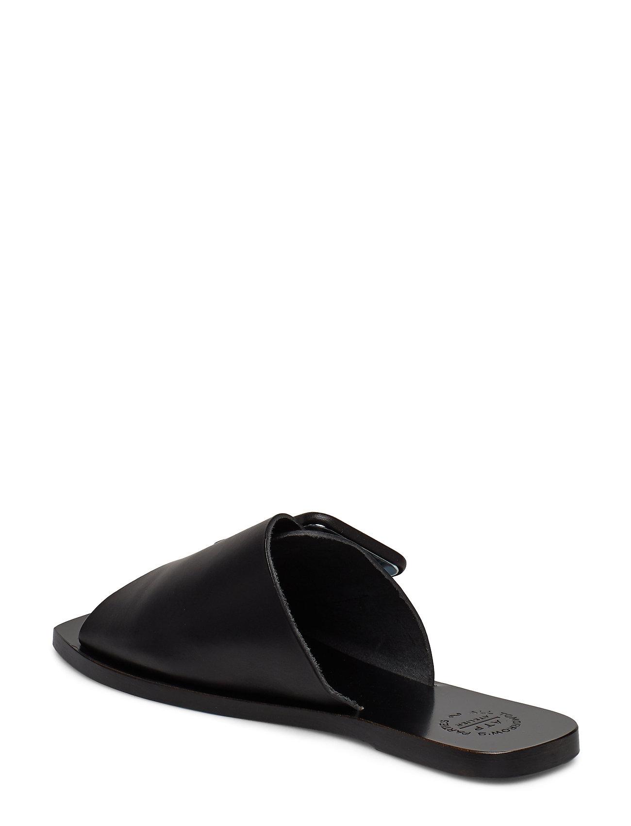 ATP Atelier - Ceci Black Vacchetta - płaskie sandały - black - 2
