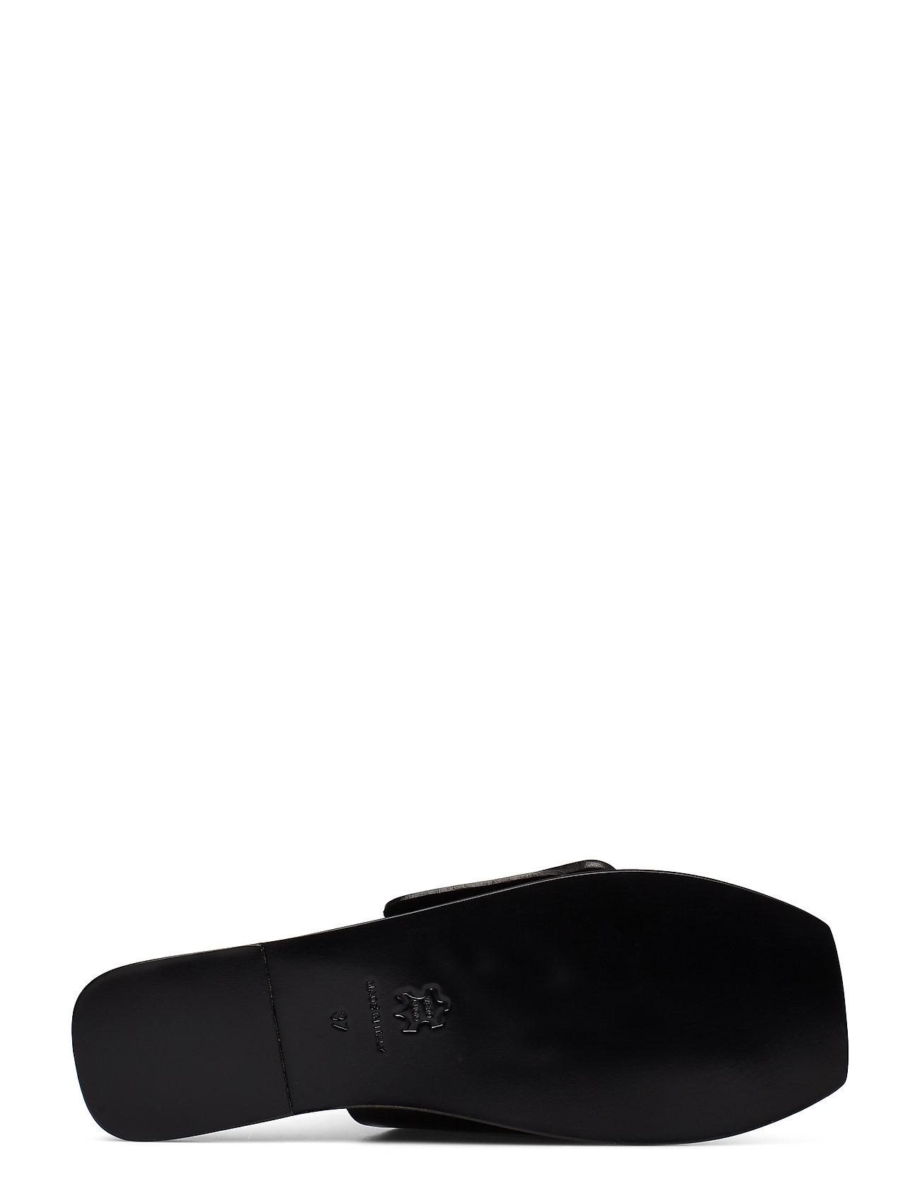 ATP Atelier - Ceci Black Vacchetta - płaskie sandały - black - 4
