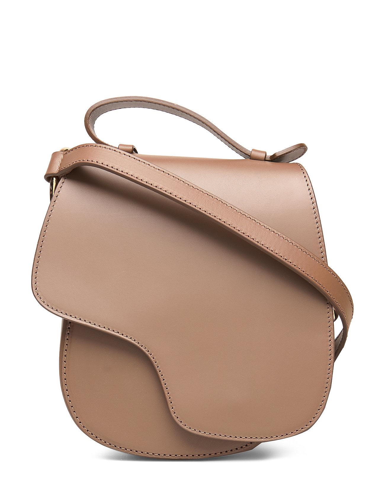 Image of Carrara Bags Small Shoulder Bags - Crossbody Bags Brun ATP Atelier (3281391709)