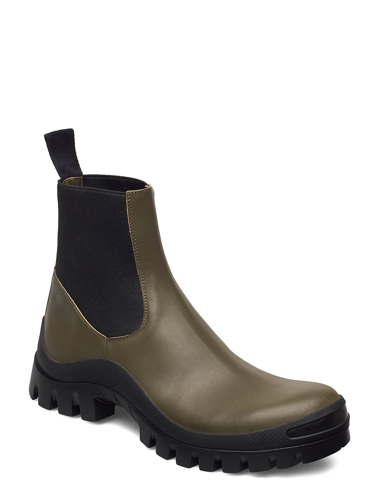 Image of Catania Vacchetta Shoes Boots Ankle Boots Ankle Boot - Flat Grøn ATP Atelier (3445902529)