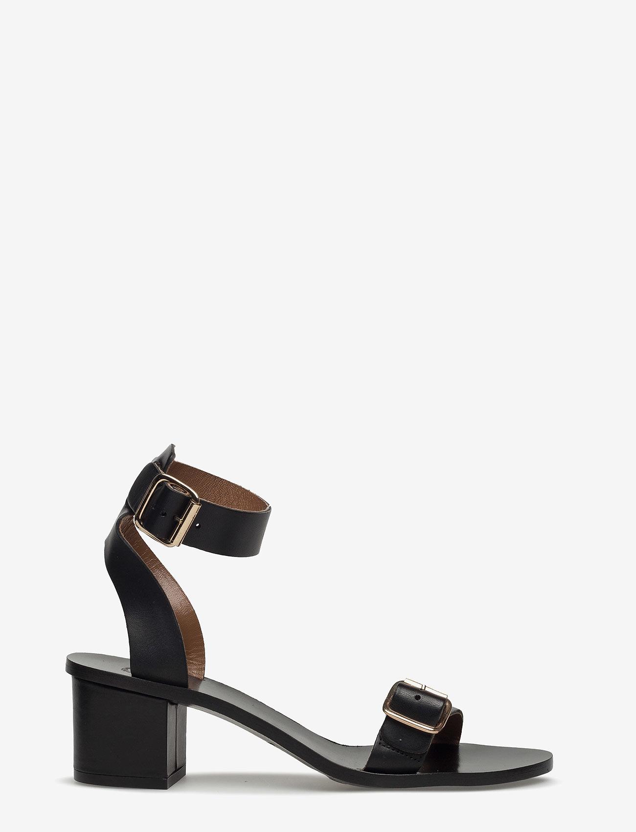 ATP Atelier - Carmen Black Vacchetta - högklackade sandaler - black - 0