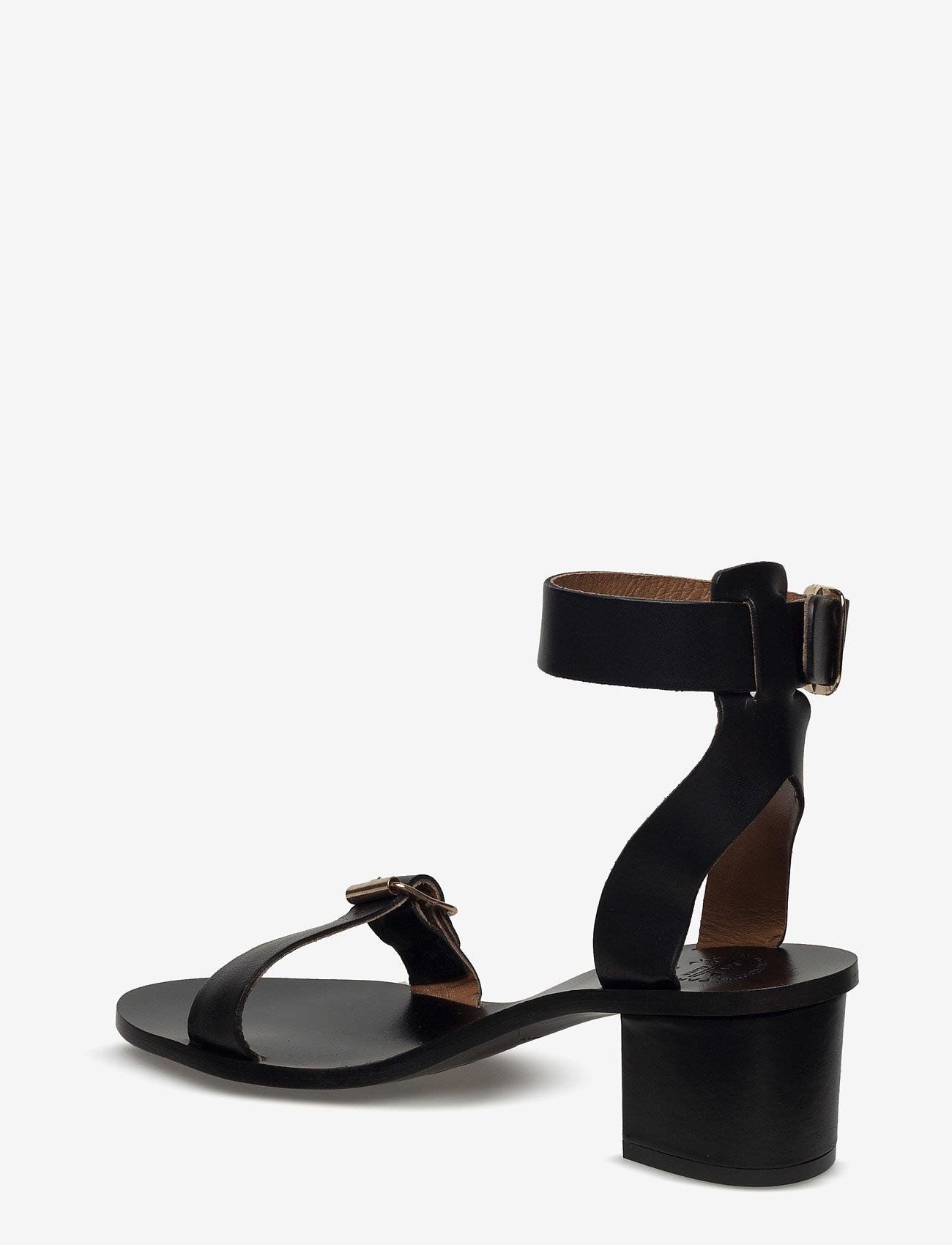 ATP Atelier - Carmen Black Vacchetta - högklackade sandaler - black - 2