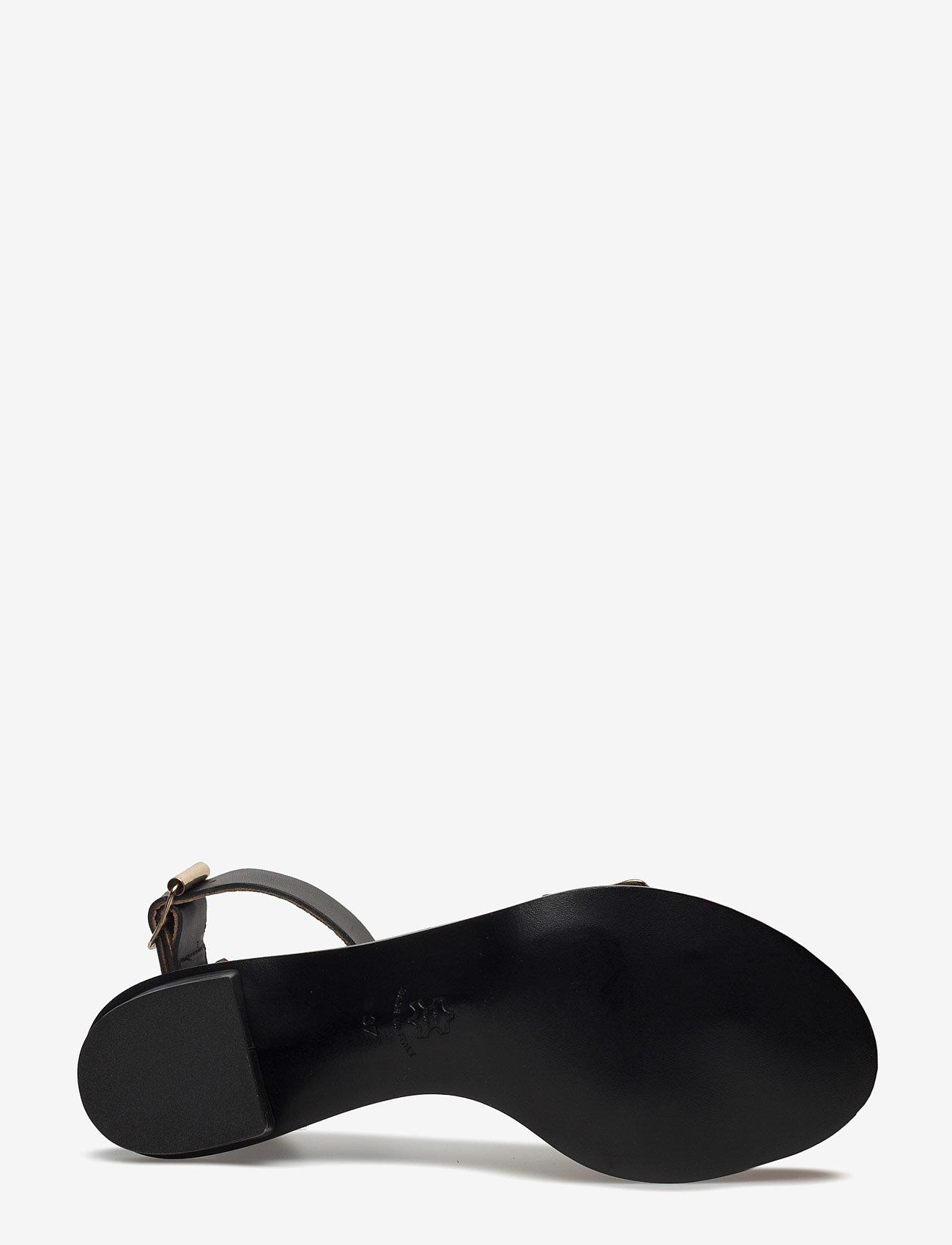 ATP Atelier - Carmen Black Vacchetta - högklackade sandaler - black - 4
