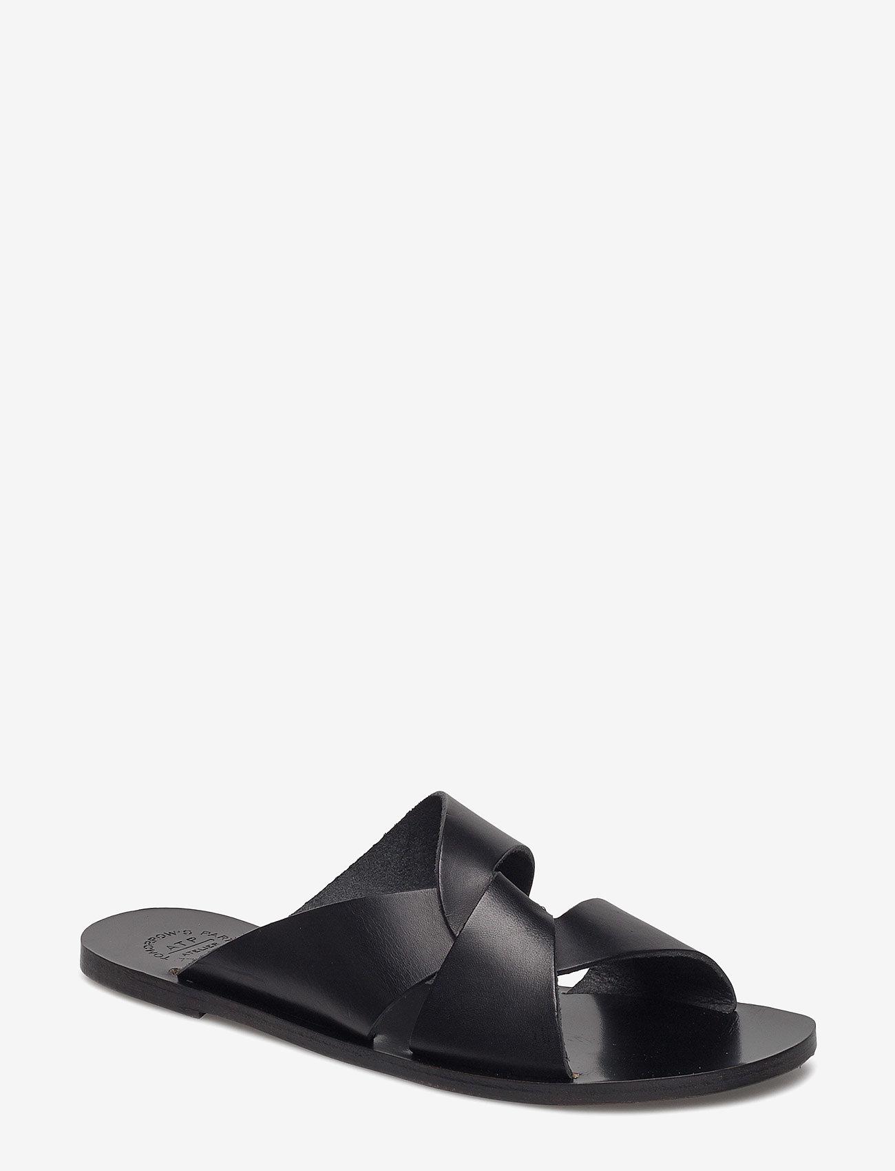 ATP Atelier - Allai - platta sandaler - black - 0