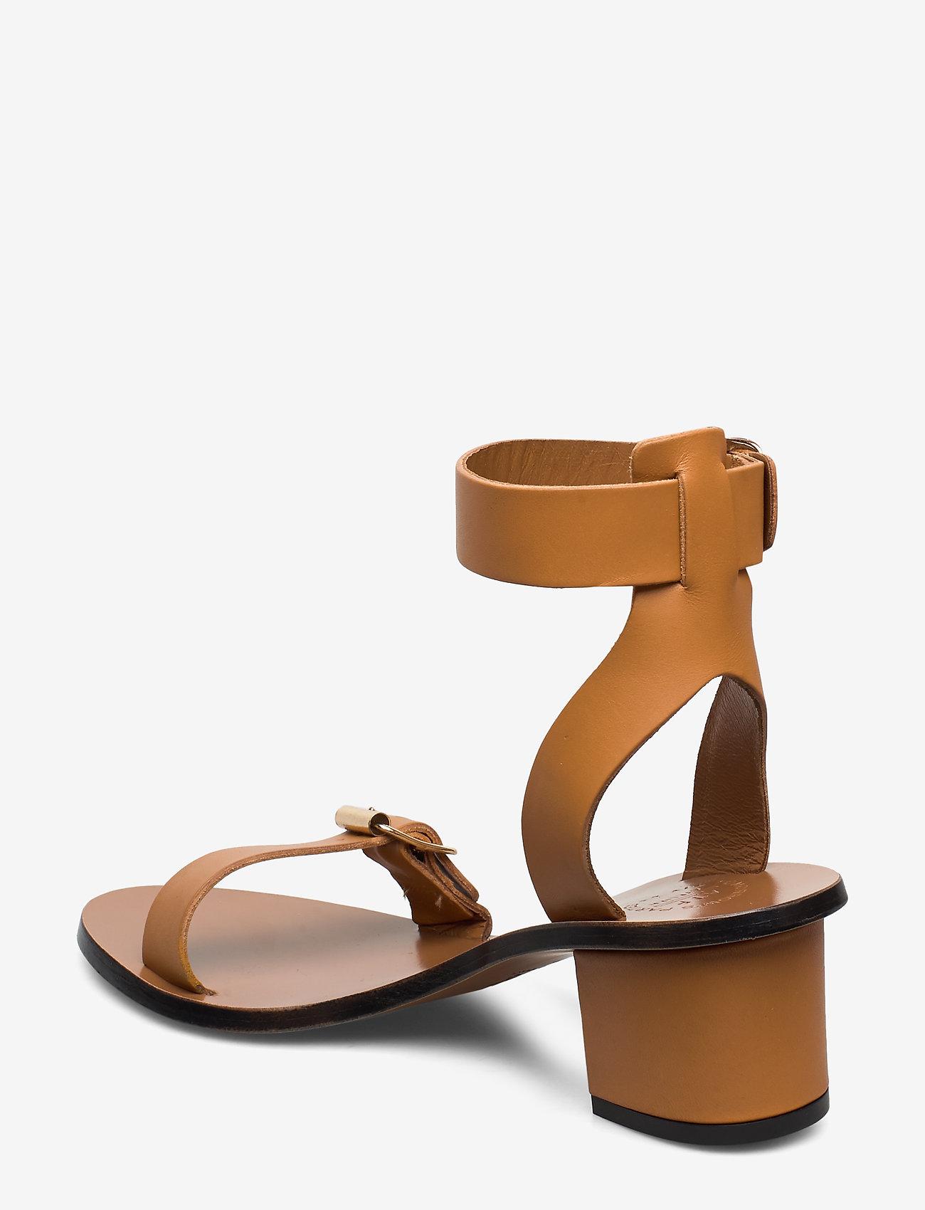 ATP Atelier - Carmen Terra Vacchetta - högklackade sandaler - terra - 2