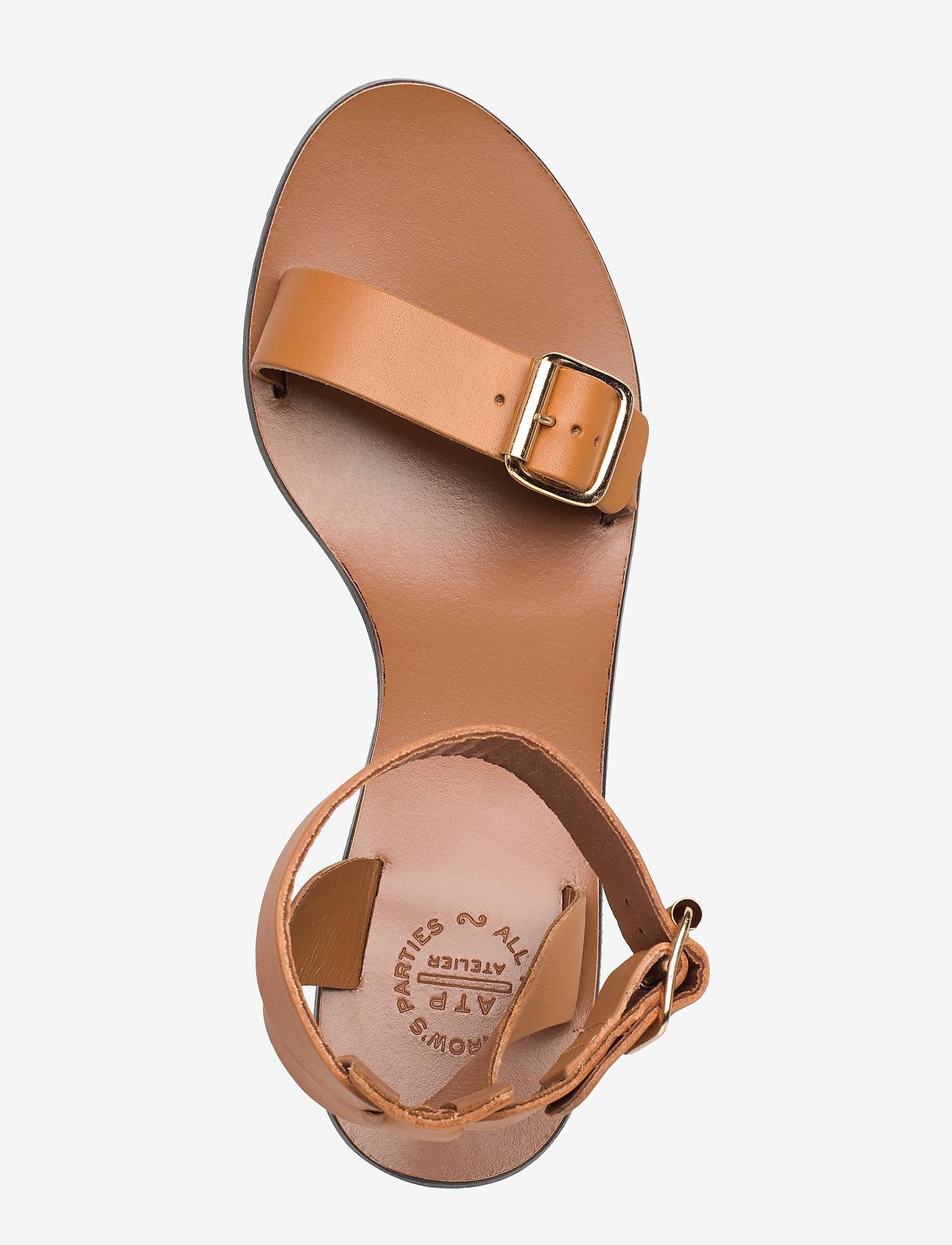 ATP Atelier - Carmen Terra Vacchetta - högklackade sandaler - terra - 3