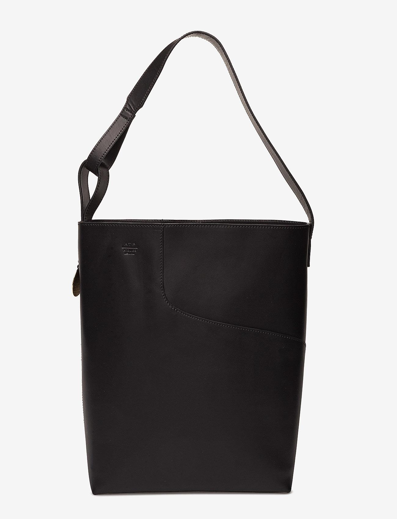 ATP Atelier - Pienza Black Vacchetta - shoppers - black - 0