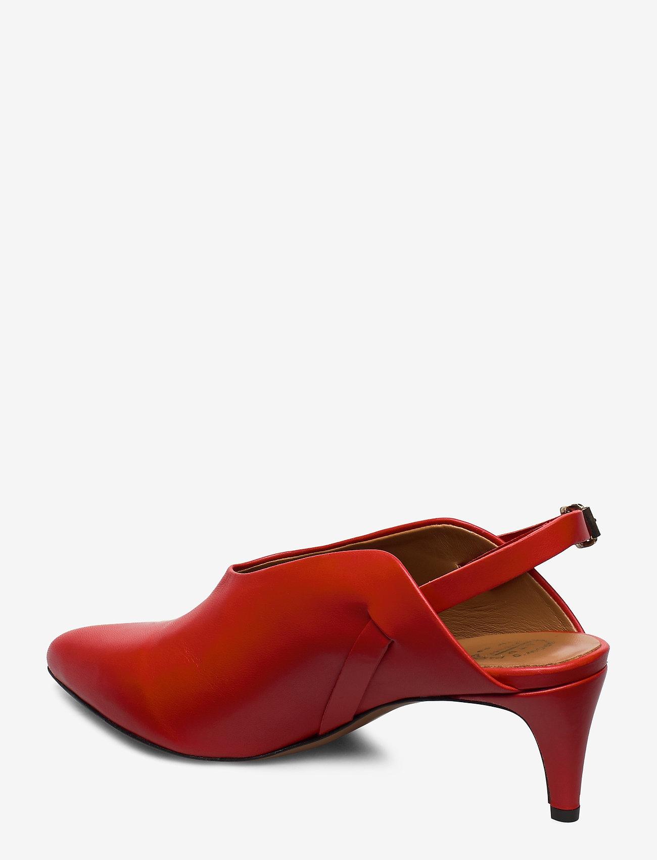 ATP Atelier - Abra Vacchetta - sling backs - tomato red - 2