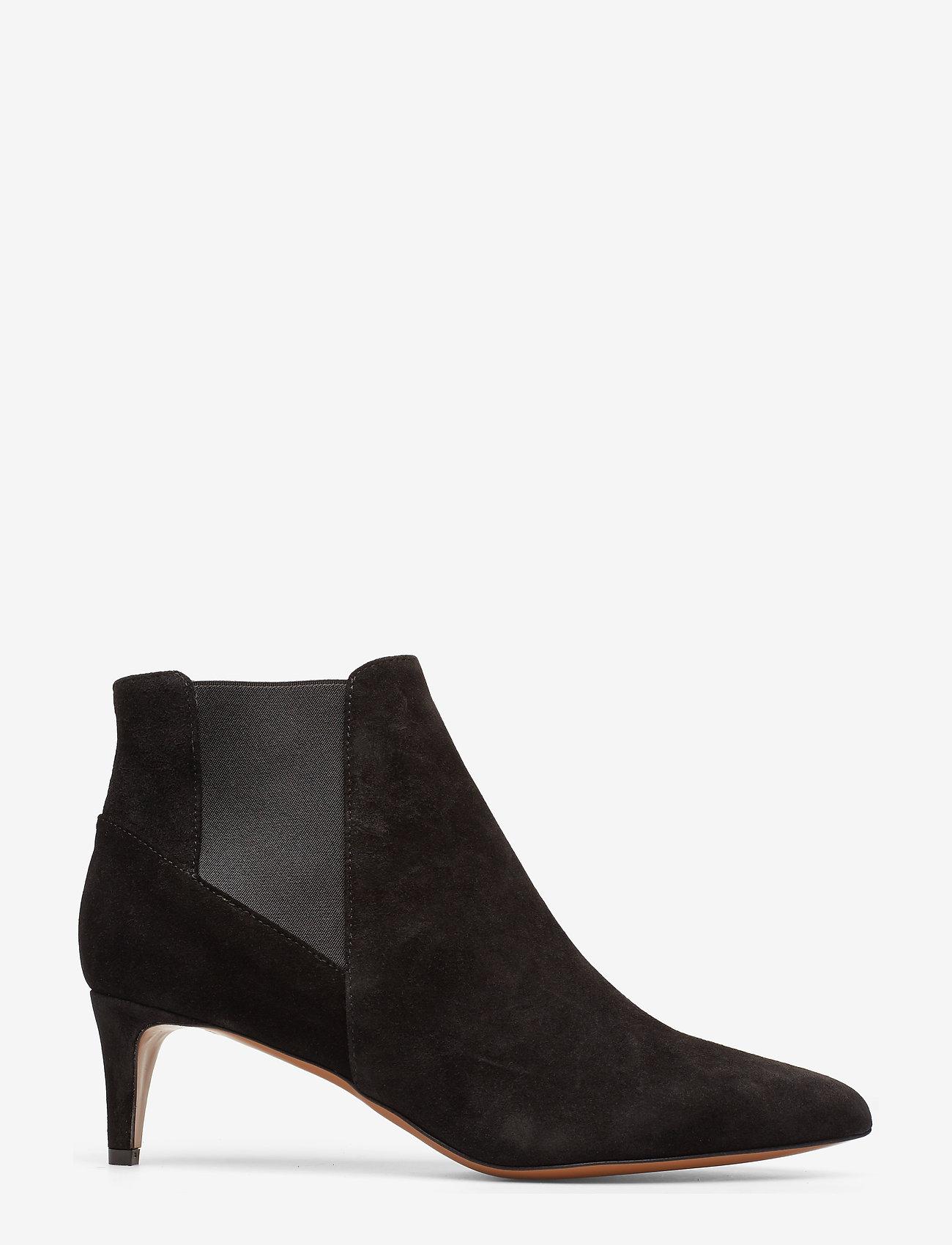 ATP Atelier - Cynara Suede - heeled ankle boots - black - 1