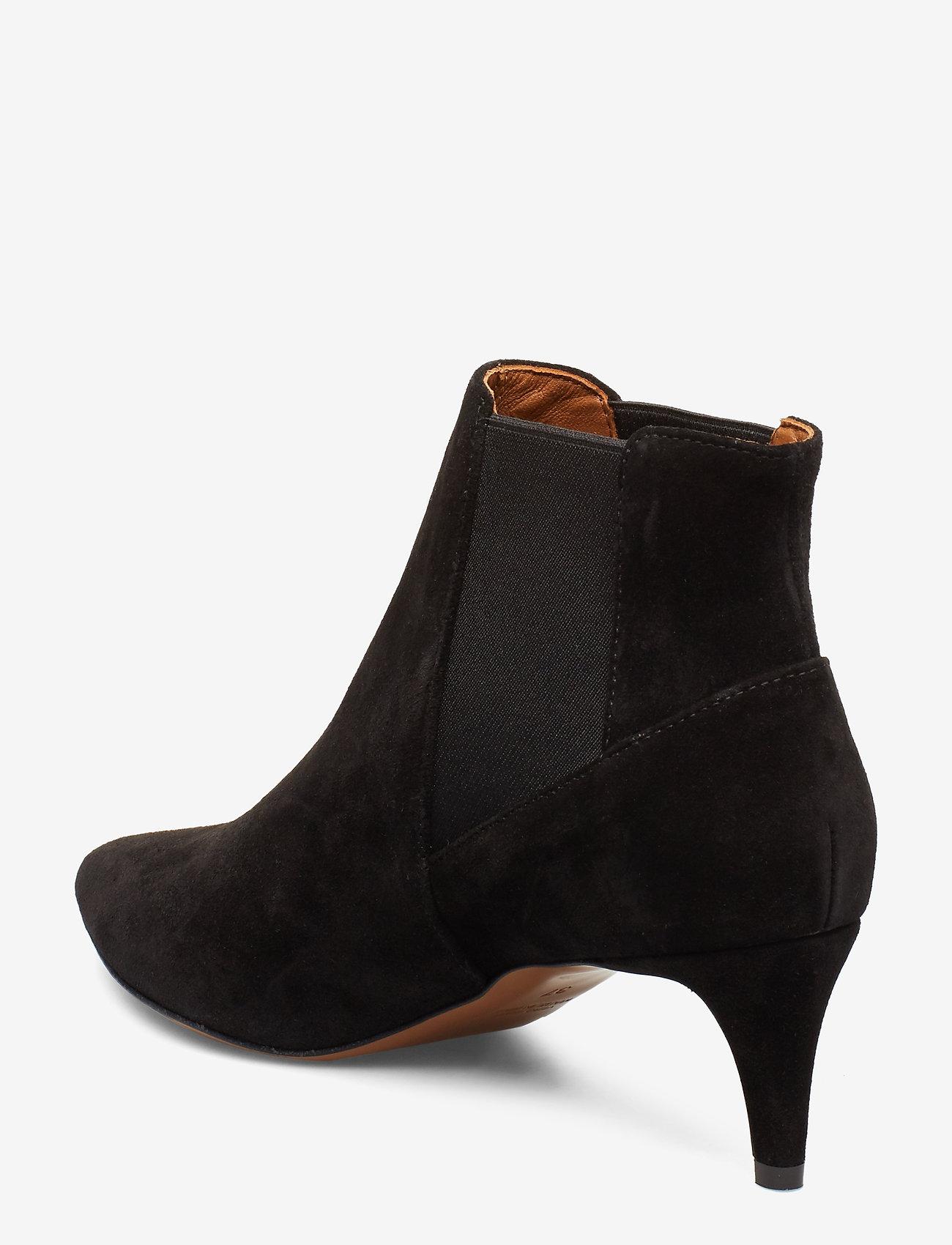 ATP Atelier - Cynara Suede - heeled ankle boots - black - 2