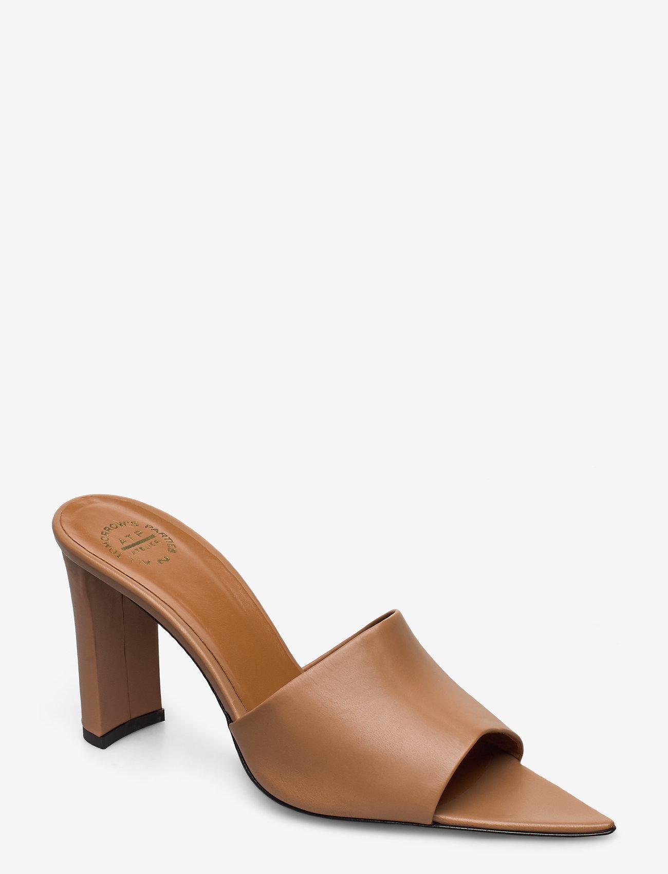 ATP Atelier - Tuturano Vacchetta - högklackade sandaler - almond - 0