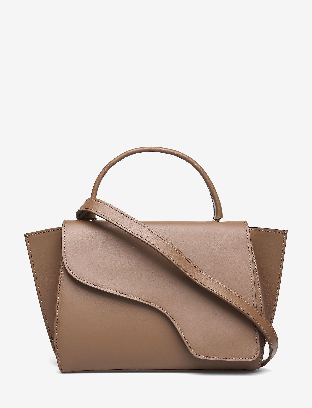 ATP Atelier - Arezzo Khaki Brown Vacchetta - bags - khaki brown - 0