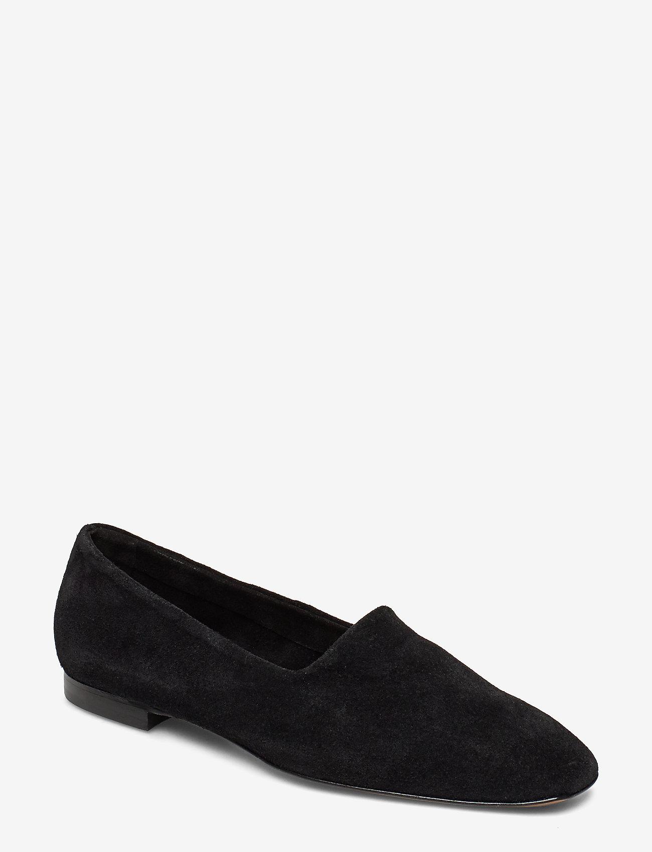 ATP Atelier - Andrano Black Suede - shoes - black - 0