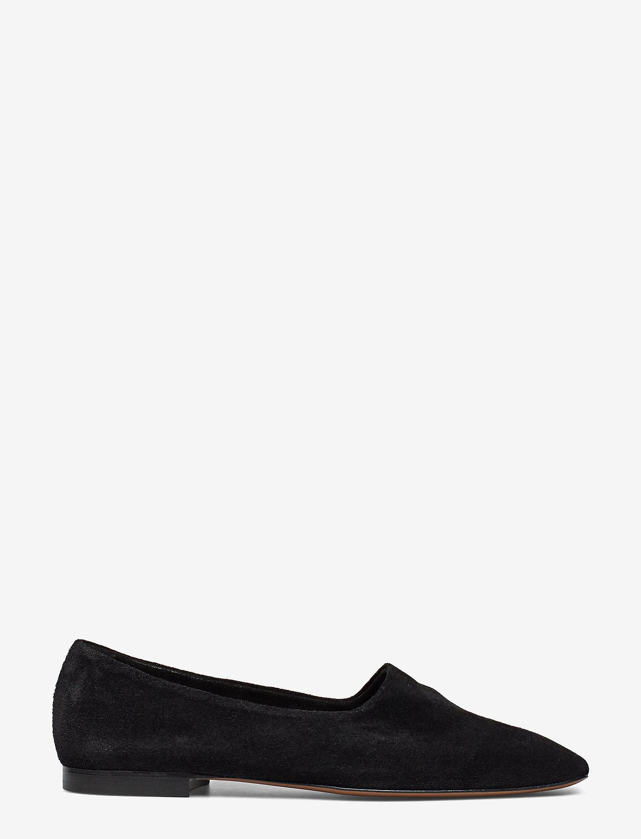ATP Atelier - Andrano Black Suede - shoes - black - 1