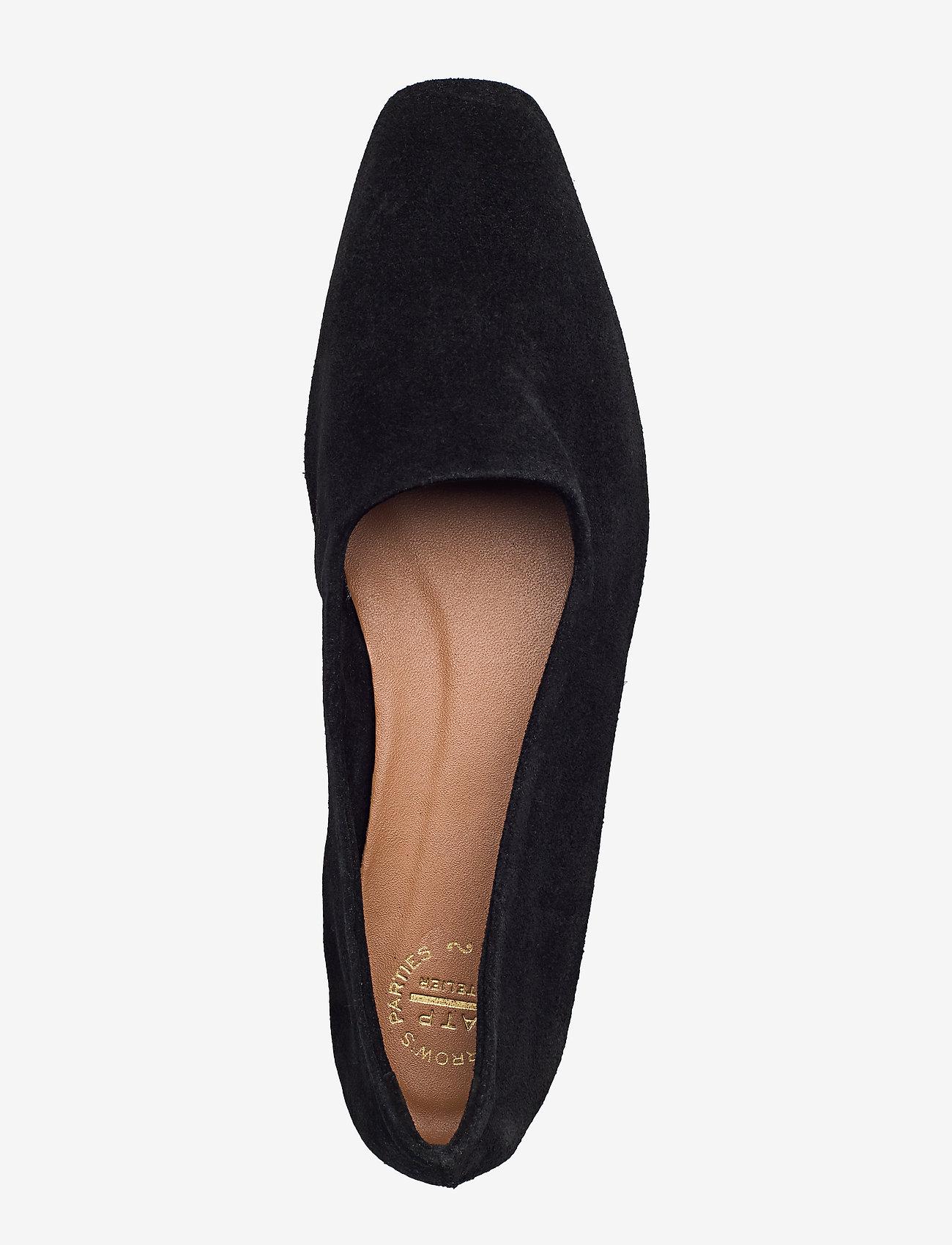 ATP Atelier - Andrano Black Suede - shoes - black - 3