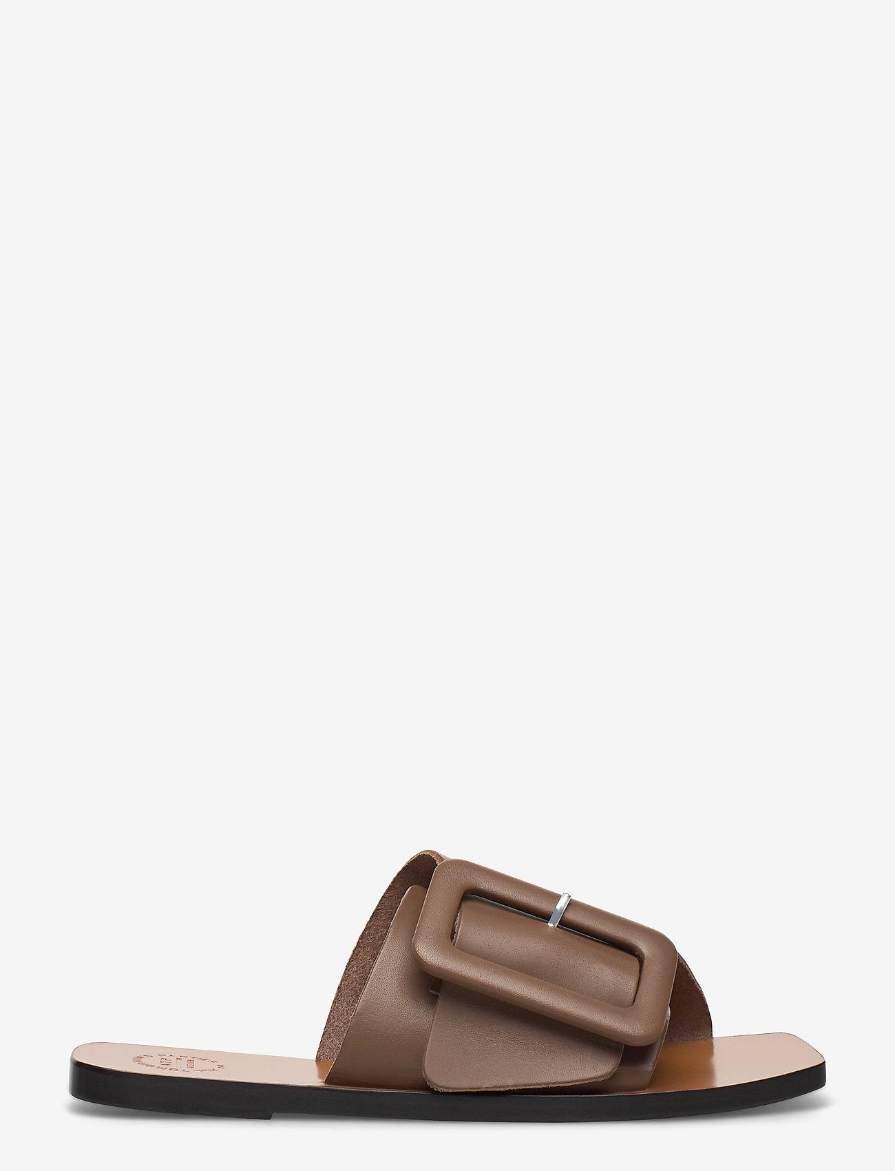 ATP Atelier - Ceci Khaki Brown Vacchetta - płaskie sandały - khaki brown - 1