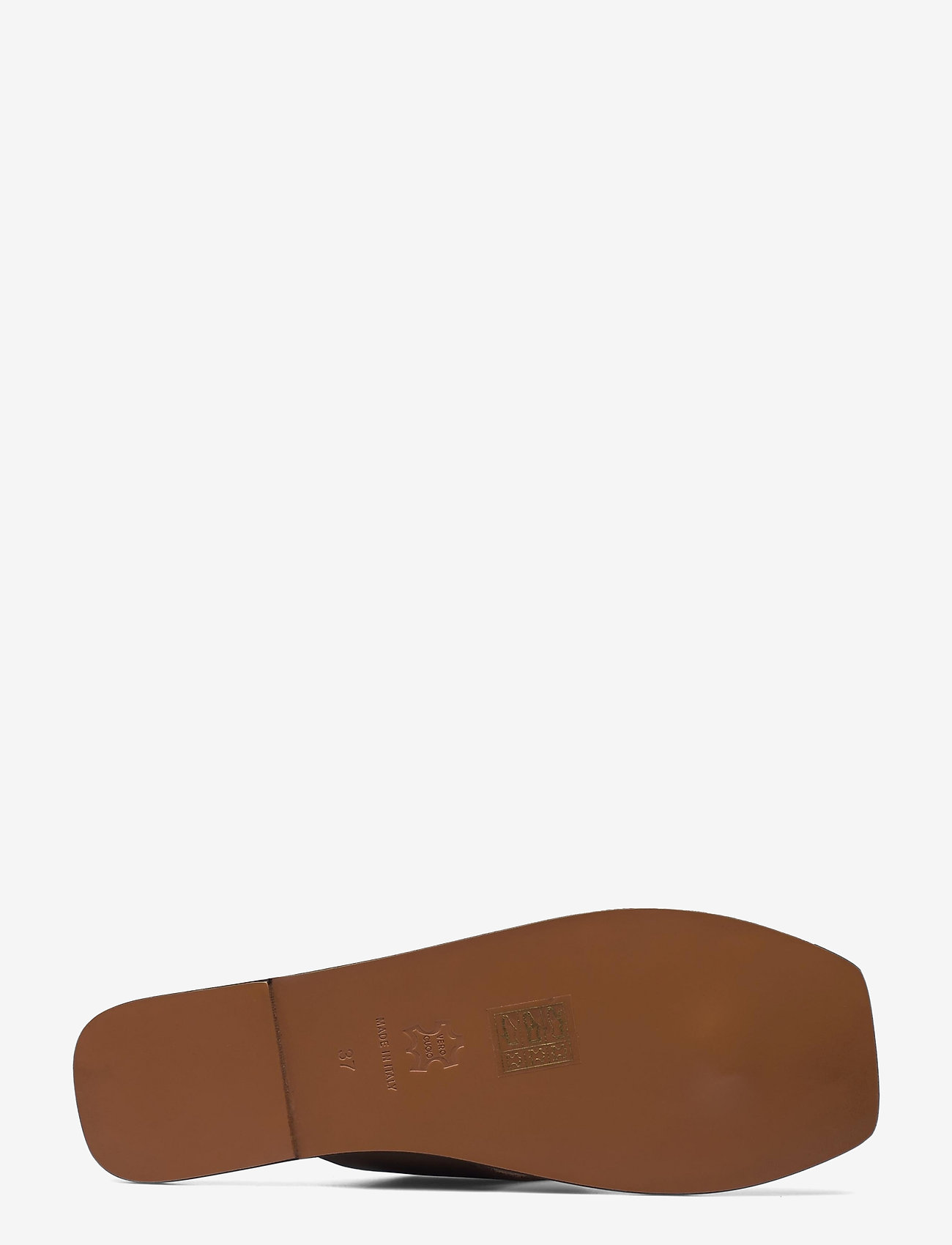 ATP Atelier - Merine Khaki Brown Vacchetta - platta sandaler - khaki brown - 4