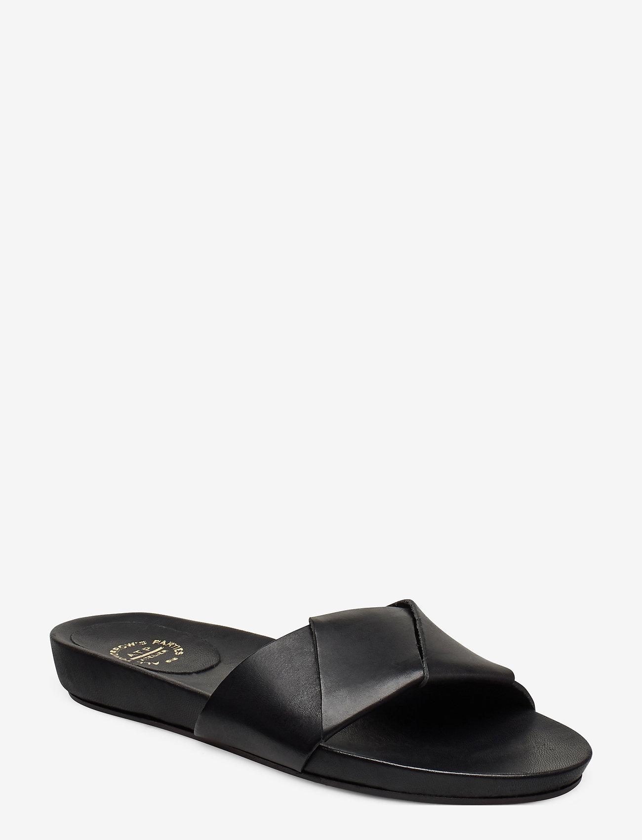 ATP Atelier - Oria Vacchetta - flat sandals - black - 0