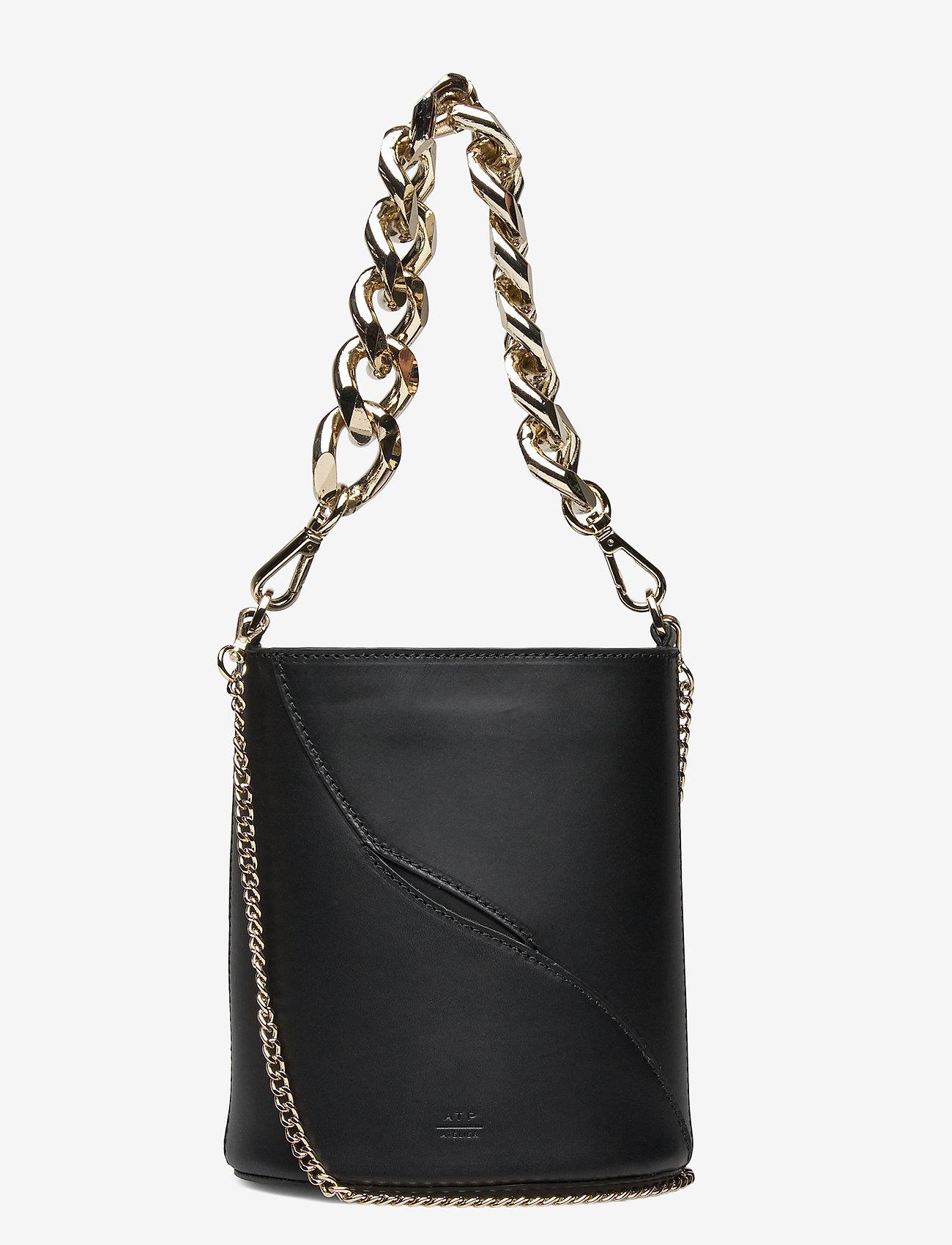 ATP Atelier - Faeto Vacchetta - bucket bags - black - 0