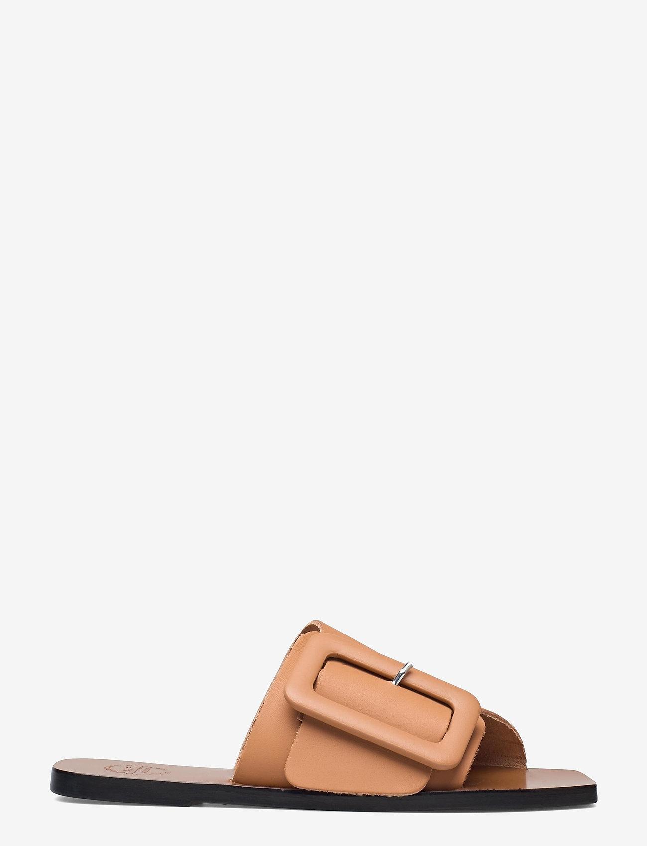 ATP Atelier - Ceci Honeynut Vacchetta - platta sandaler - honeynut - 0