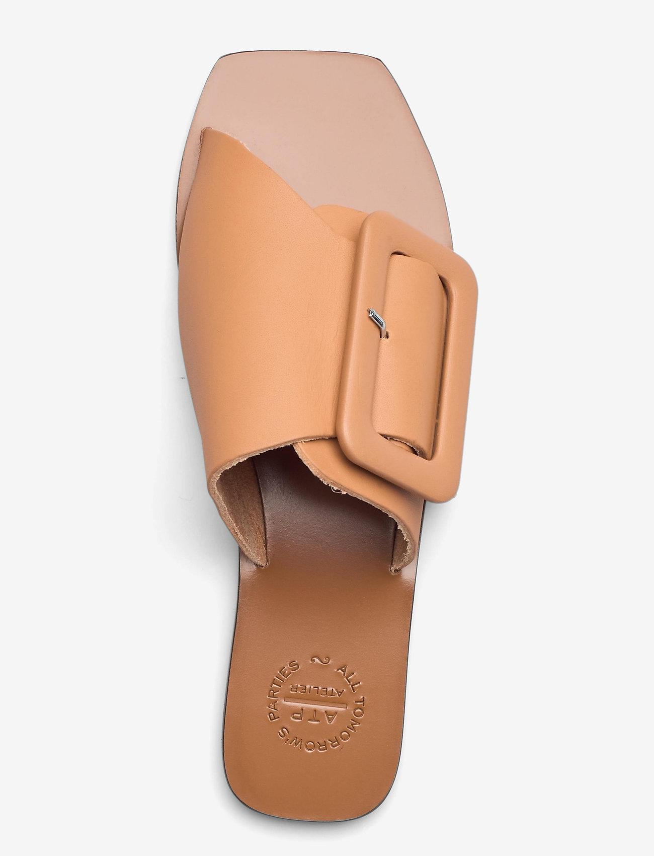 ATP Atelier - Ceci Honeynut Vacchetta - platta sandaler - honeynut - 3