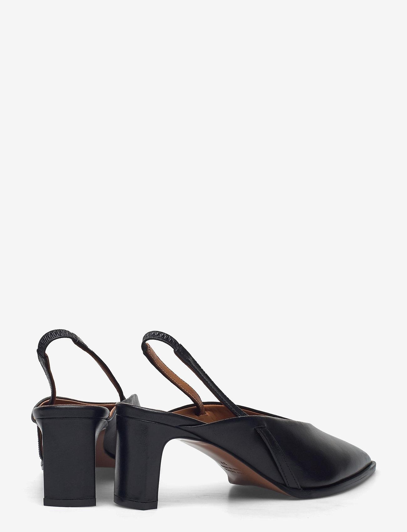 ATP Atelier - Capoiale Black Vacchetta - sling backs - black - 4