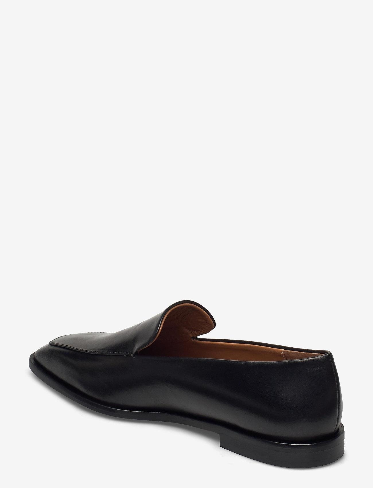 ATP Atelier - Loconia Black Vacchetta - loafers - black - 2
