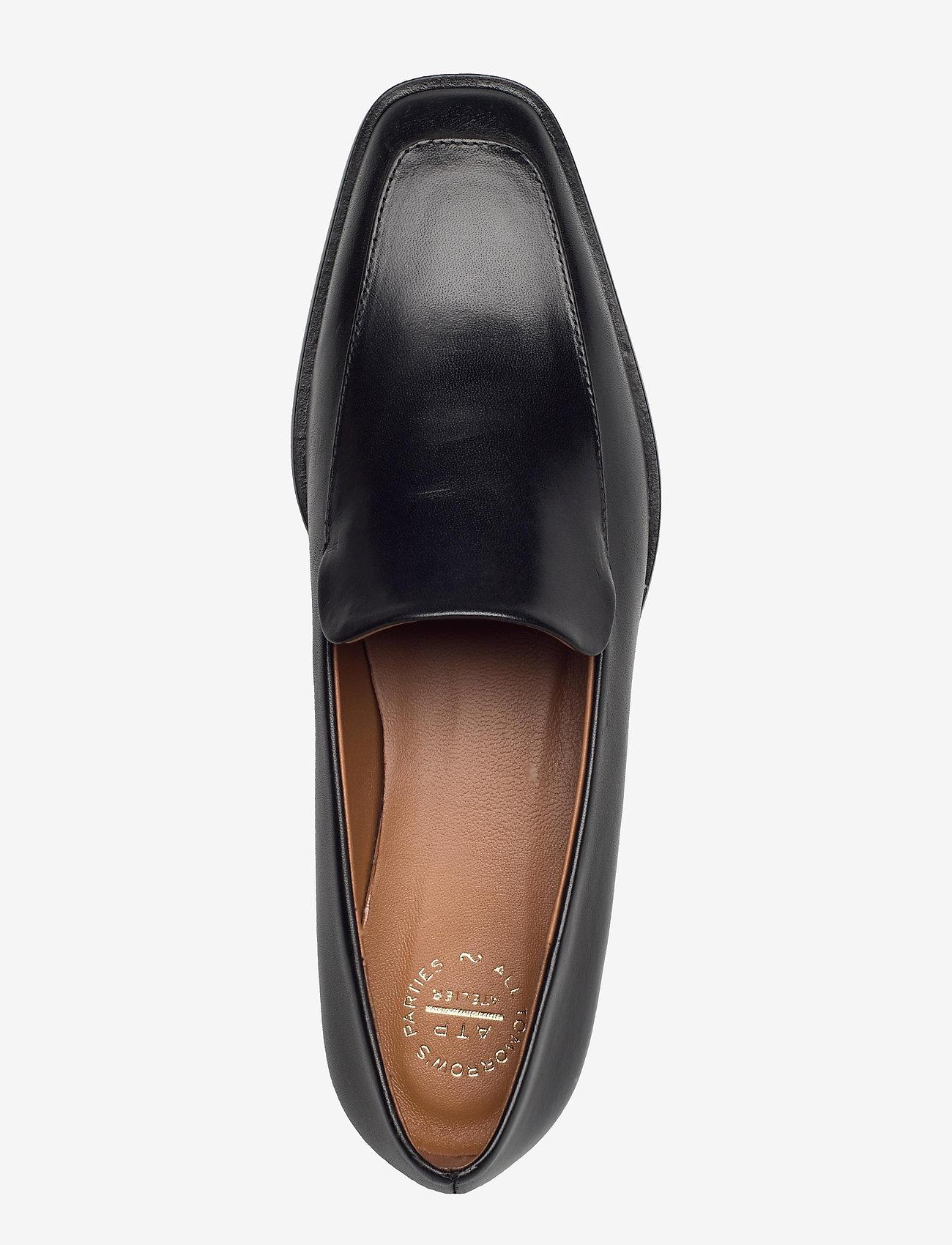 ATP Atelier - Loconia Black Vacchetta - loafers - black - 3