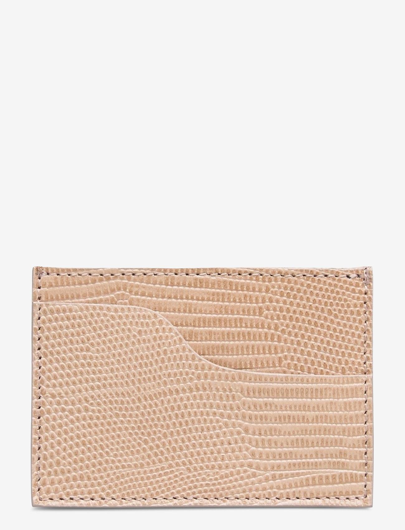 ATP Atelier - Vinci Printed Watersnake - portemonnees - light beige - 1