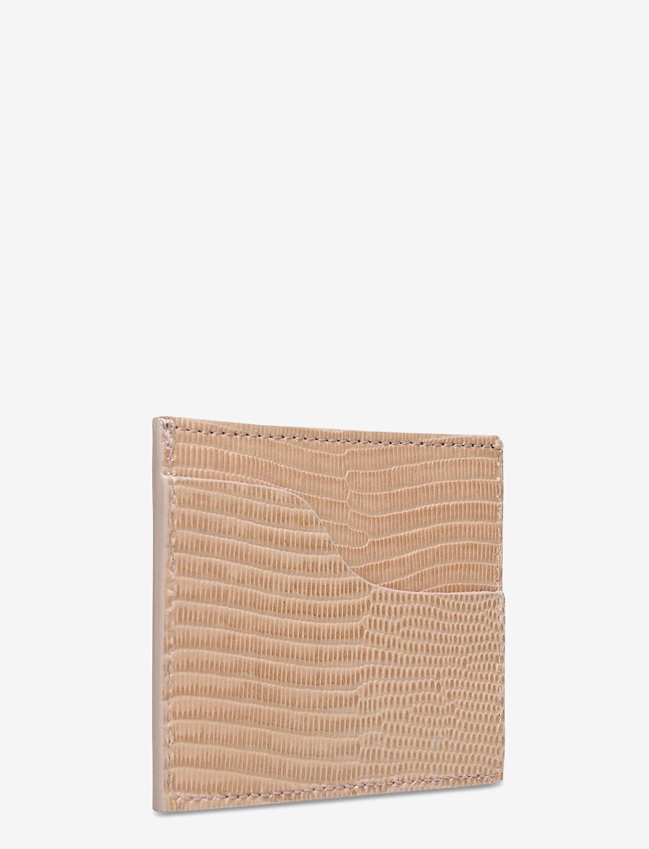 ATP Atelier - Vinci Printed Watersnake - portemonnees - light beige - 2