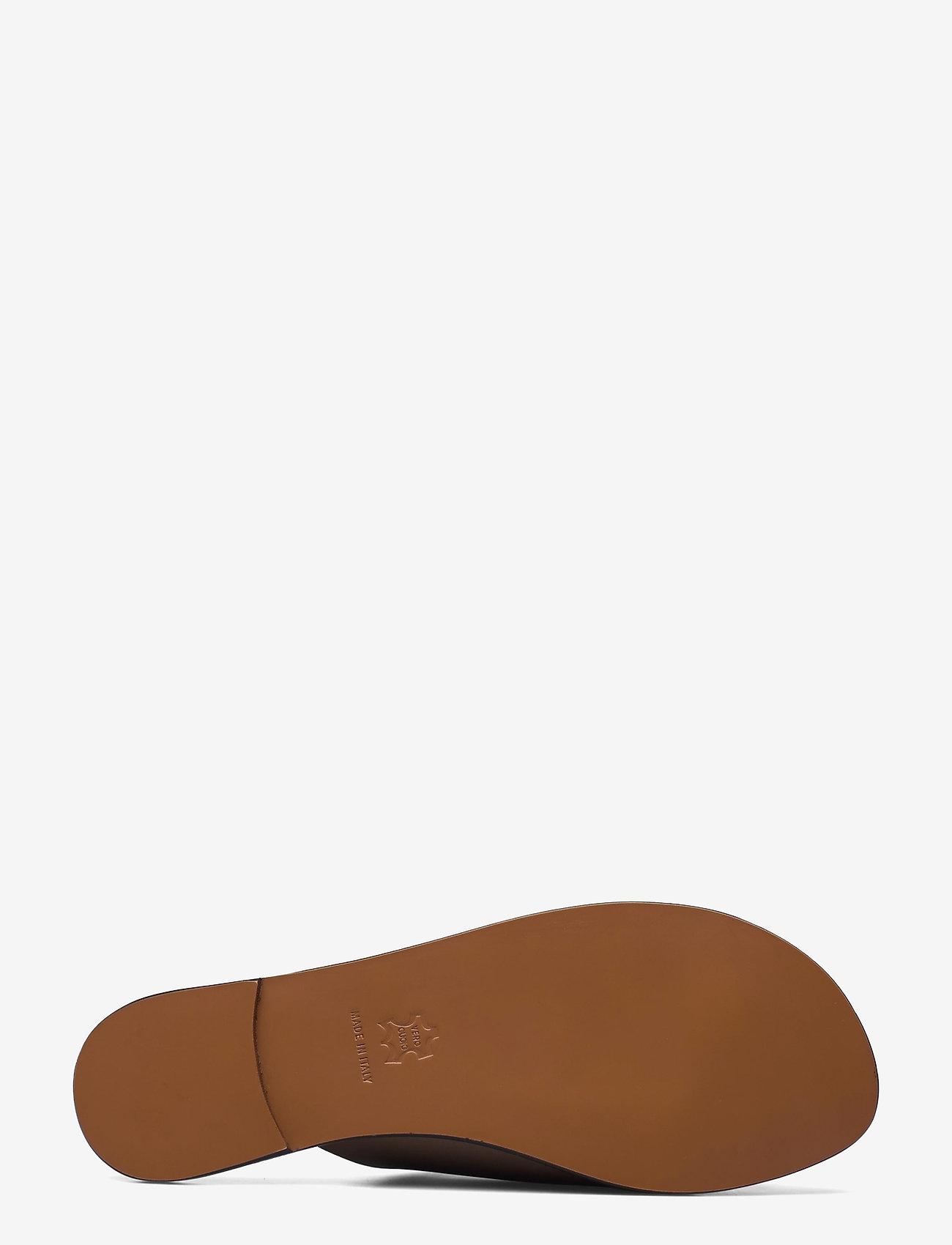 ATP Atelier - Rosa Khaki Brown Vacchetta - platta sandaler - khaki brown - 4