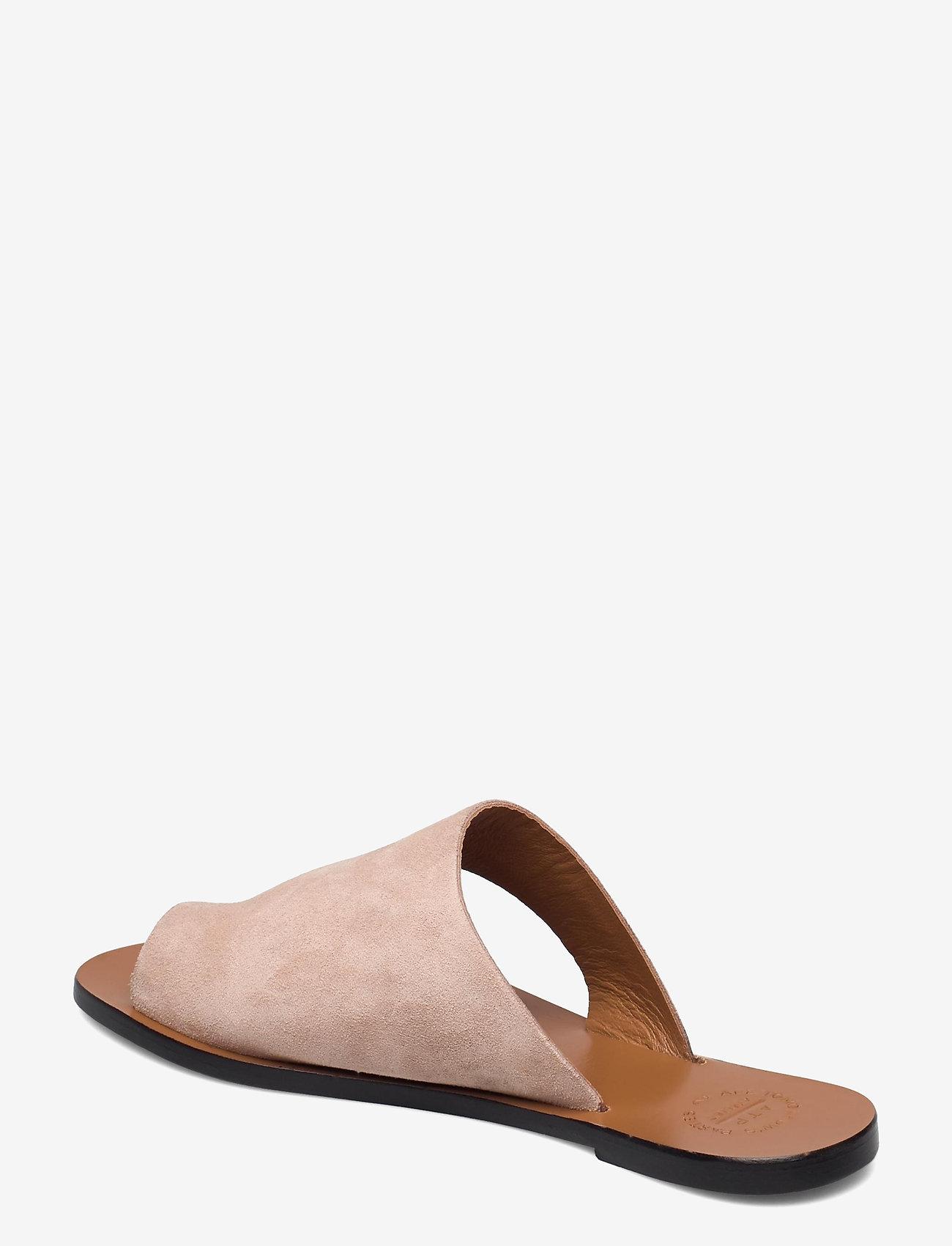 ATP Atelier - Rosa Sand Suede - platta sandaler - sand - 2