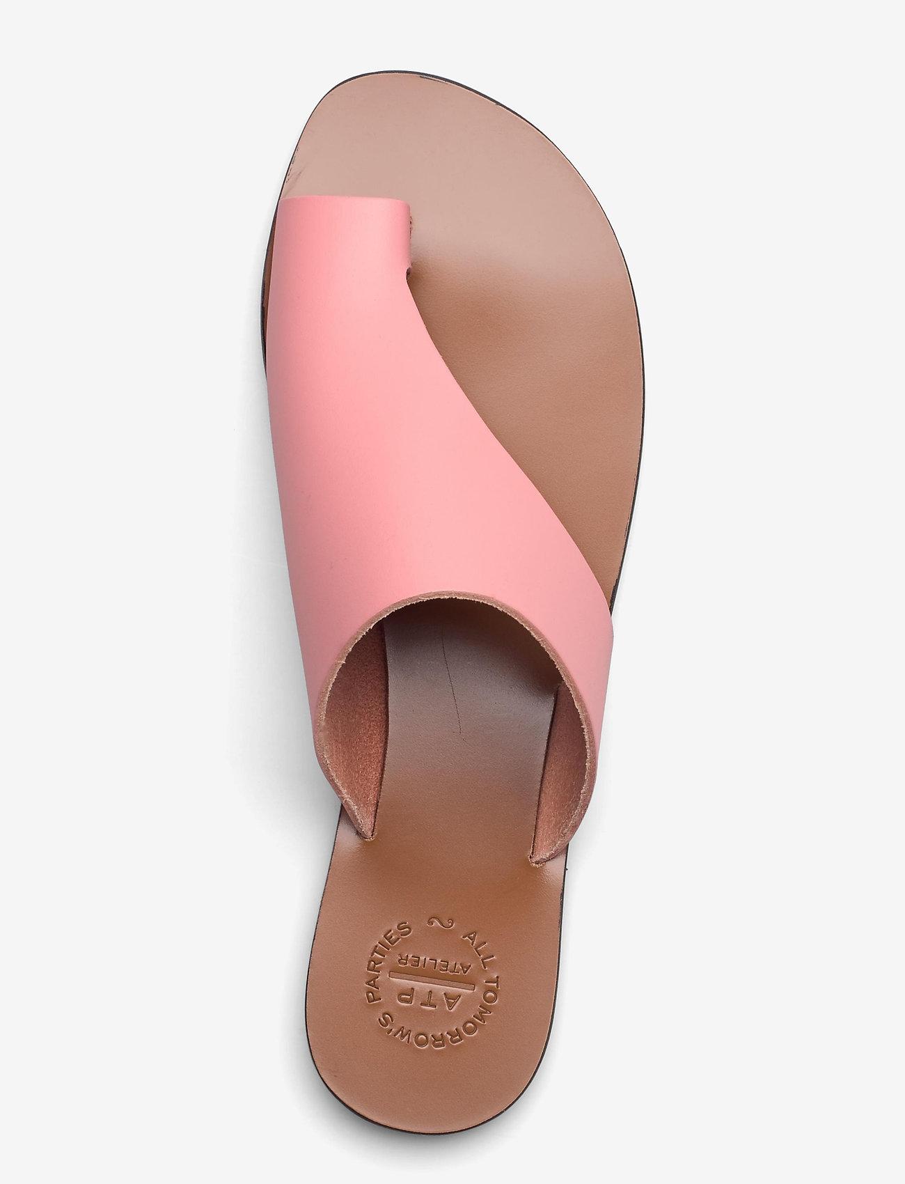 ATP Atelier - Rosa Candy Pink Vacchetta - płaskie sandały - candy pink - 3