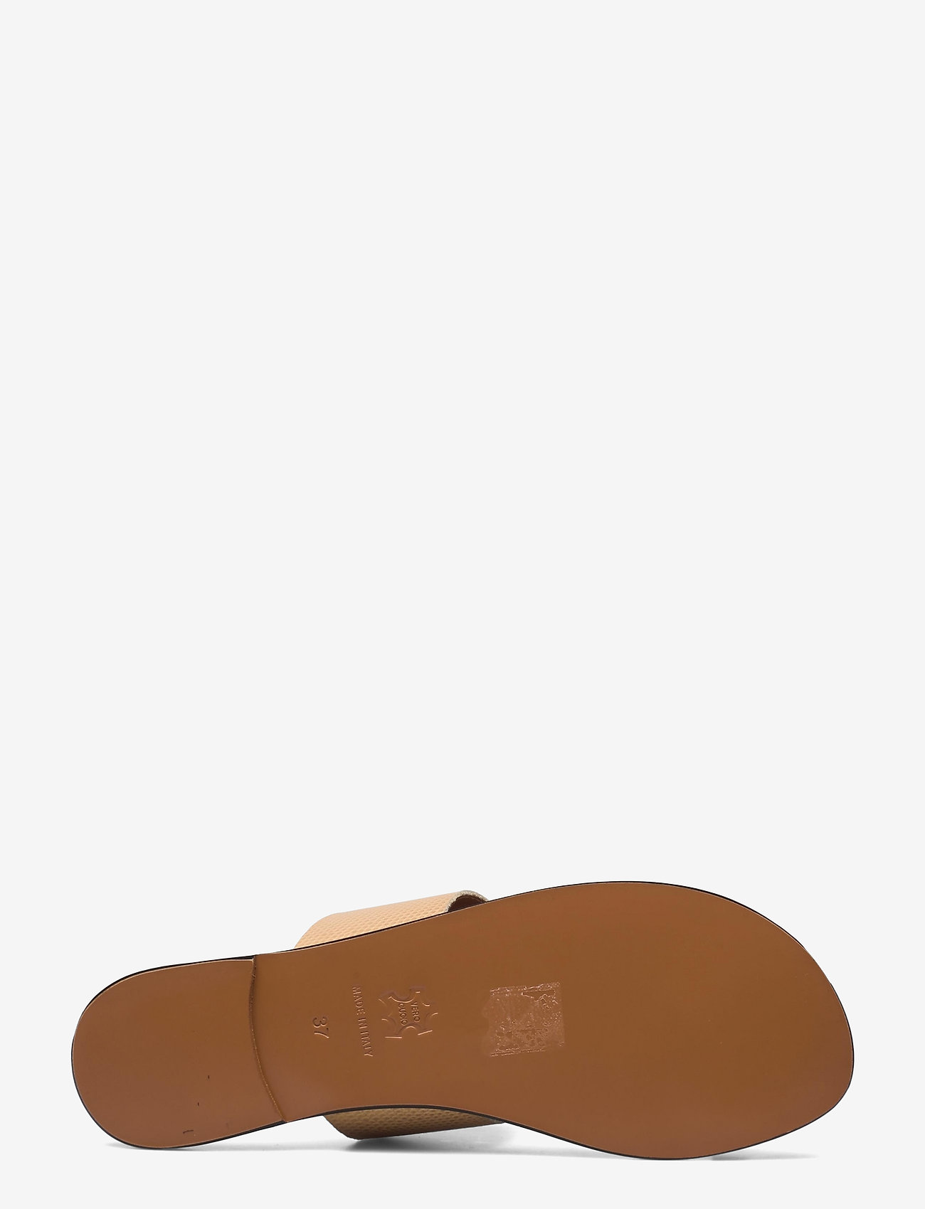 ATP Atelier - Astrid Light Beige Printed Watersnake - platta sandaler - light beige - 4