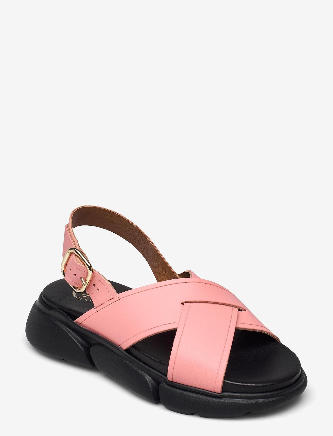 ATP Atelier - Barisci Candy Pink Vacchetta - platta sandaler - candy pink - 0