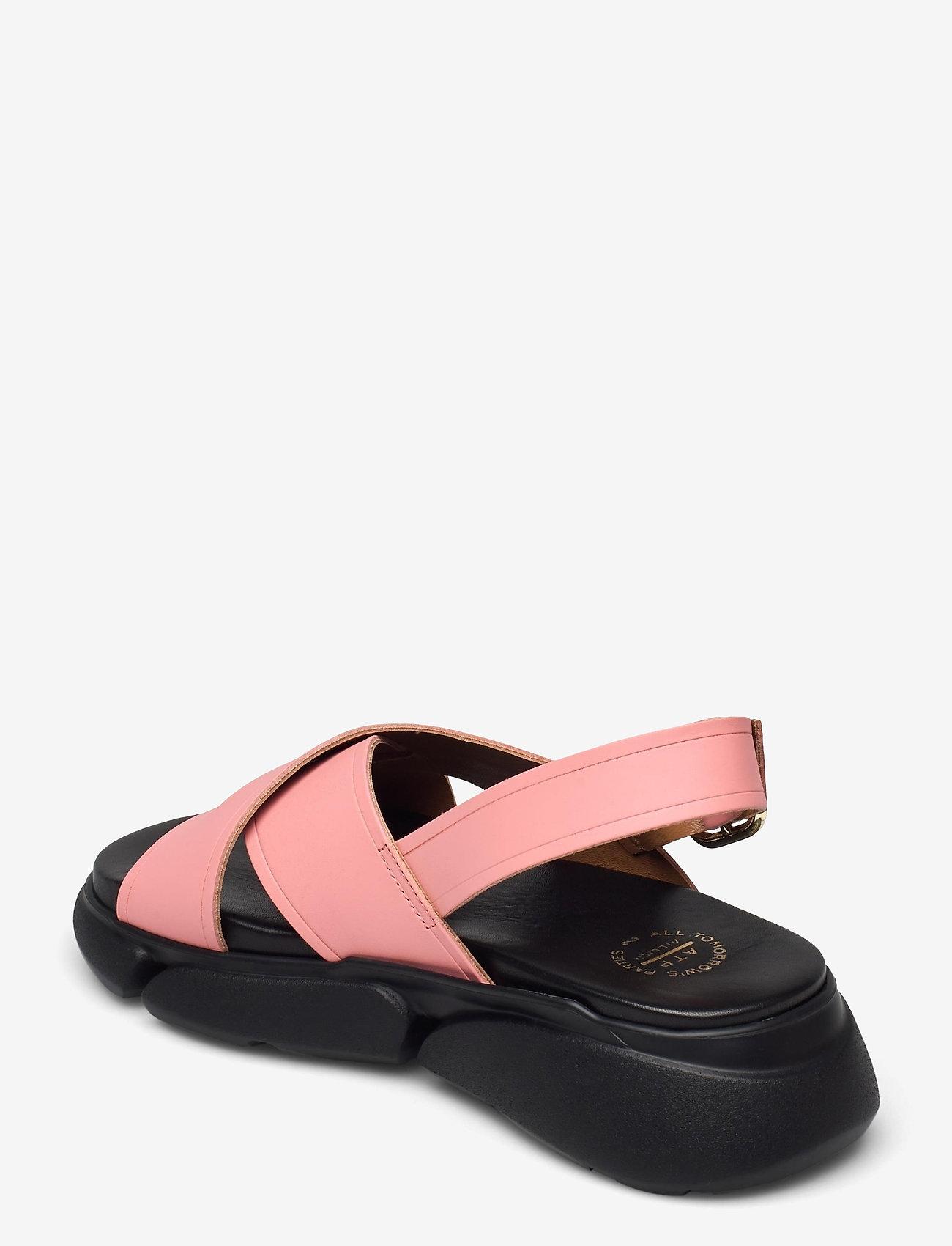 ATP Atelier - Barisci Candy Pink Vacchetta - platta sandaler - candy pink - 2