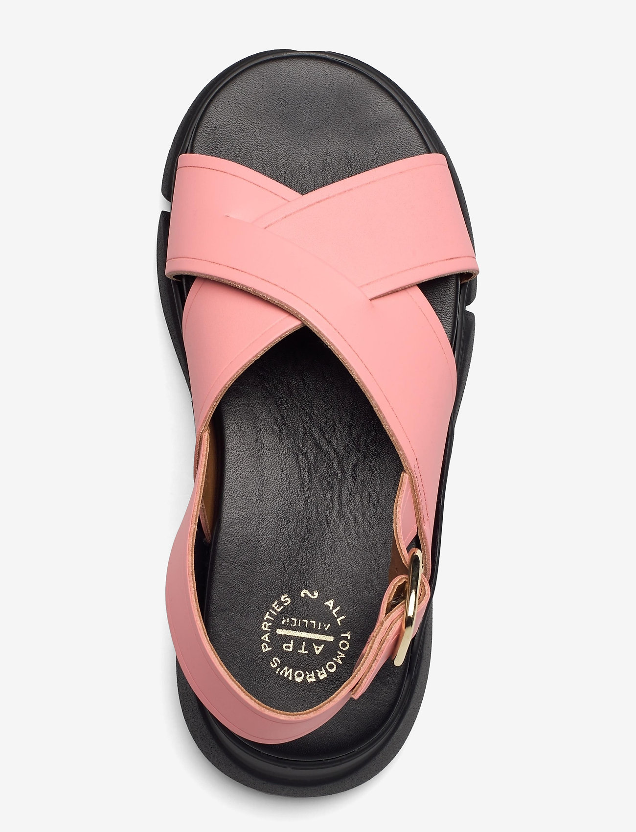 ATP Atelier - Barisci Candy Pink Vacchetta - platta sandaler - candy pink - 3