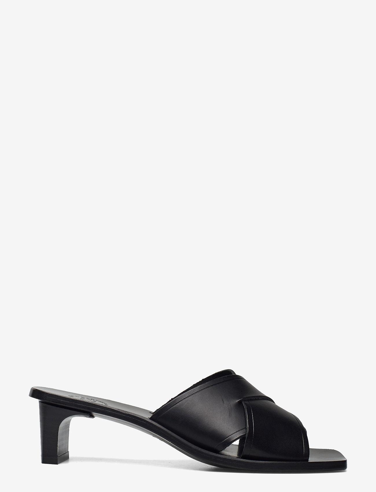 ATP Atelier - Stornarella Black Vacchetta - högklackade sandaler - black - 1