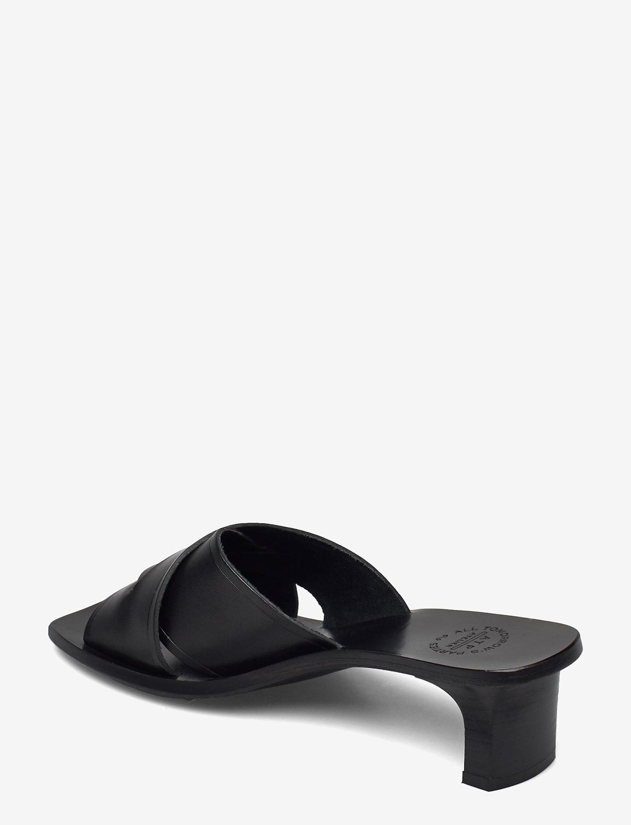 ATP Atelier - Stornarella Black Vacchetta - högklackade sandaler - black - 2
