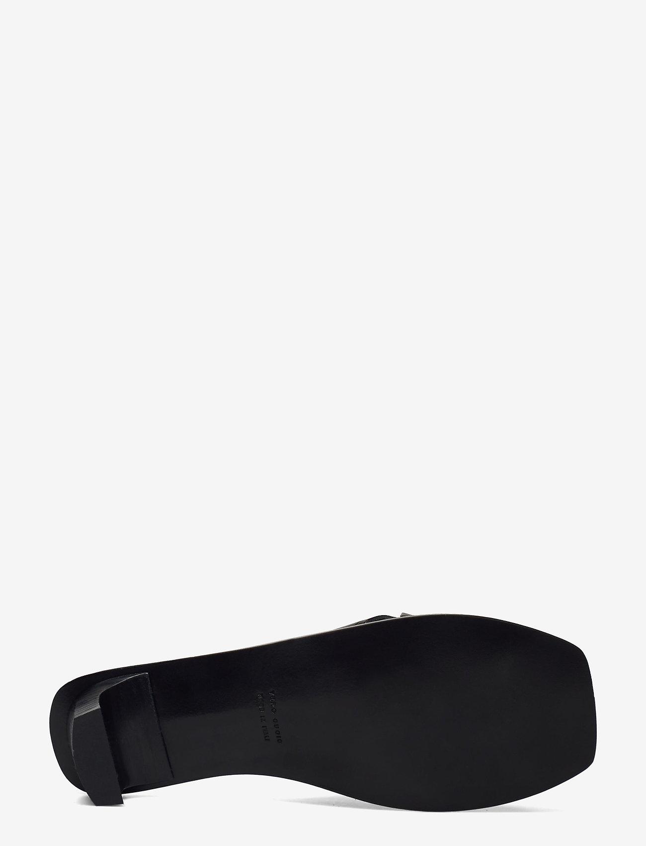 ATP Atelier - Stornarella Black Vacchetta - högklackade sandaler - black - 4