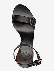 ATP Atelier - Carmen Black Vacchetta - högklackade sandaler - black - 3