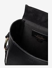 ATP Atelier - Carrara Black Suede/Vacchetta - shoulder bags - black - 4